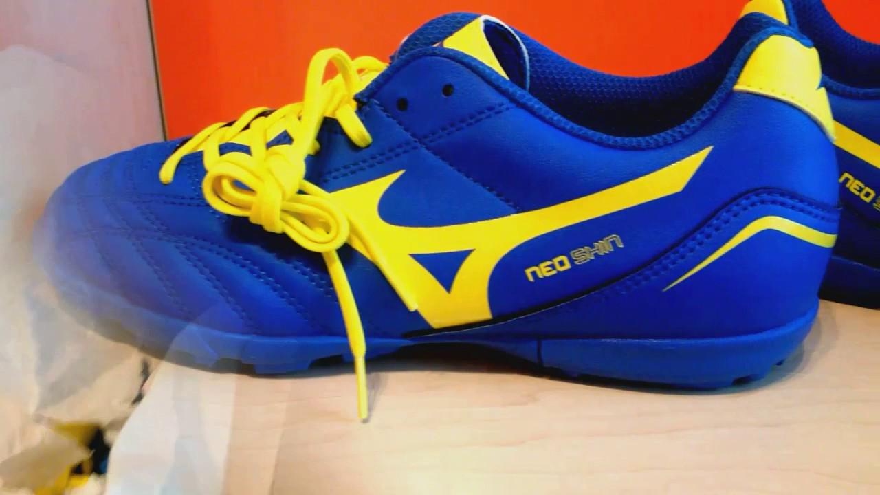 Mizuno Morelia Neo Shin Kids Tf 37 Youtube Sepatu Futsal Sala Classic 2 In Yellow