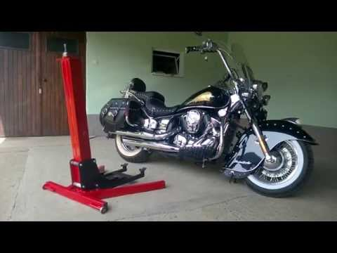 moto lift 400 ld motorrad hebeb hne f r die garage www doovi. Black Bedroom Furniture Sets. Home Design Ideas