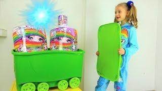Полина и волшебная коробка с единорожками Poopsie surprise unicorn