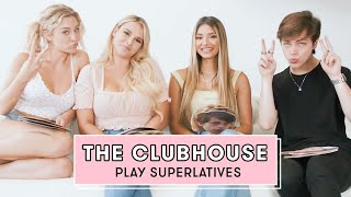 Daisy Keech and the Cast of Clubhouse BH Reveal Which Member Loves Creating Drama | Superlatives