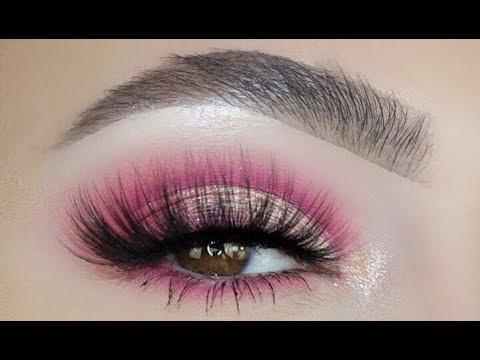Smokey Pink Champagne Eye Look Tutorial - Sofie Bella