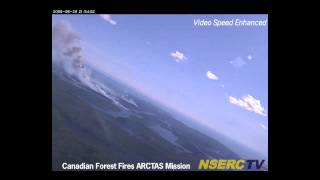 NASA DC-8 Encounters Boreal Forest Fire Plumes