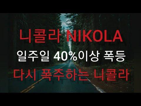'니콜라(NIKOLA)'의 주가 폭주