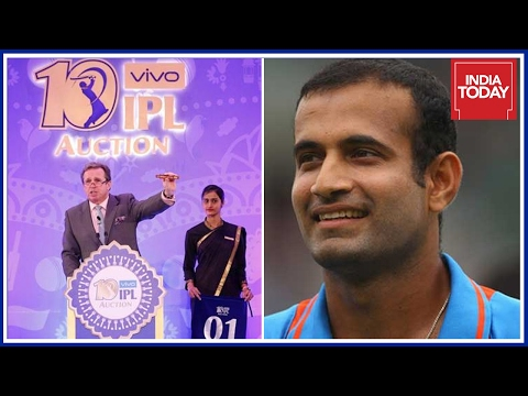 Irfan Pathan, Ishant Sharma Remains Unsold In IPL Auctions 2017