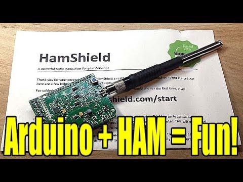 Hamshield: Arduino meets amateur radio