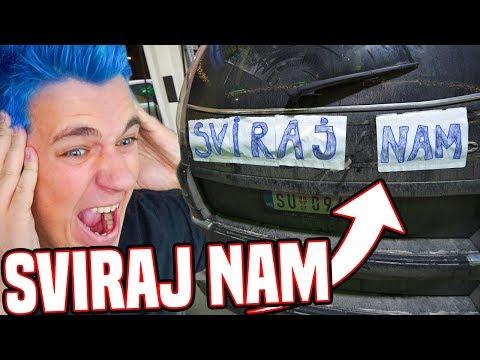 TRUBI OVOM AUTOMOBILU!!! *PRANK RATOVI*