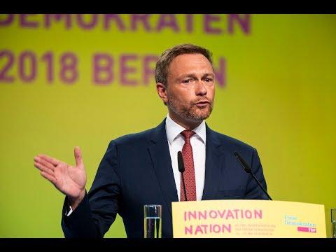 FDP-Bundesparteitag: Rede von Christian Lindner am 12.05.18
