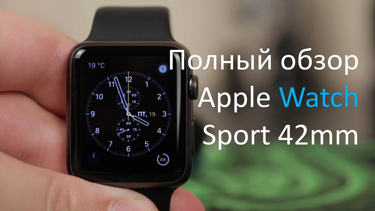 Часы Apple Watch из Китая с AliExpress - YouTube