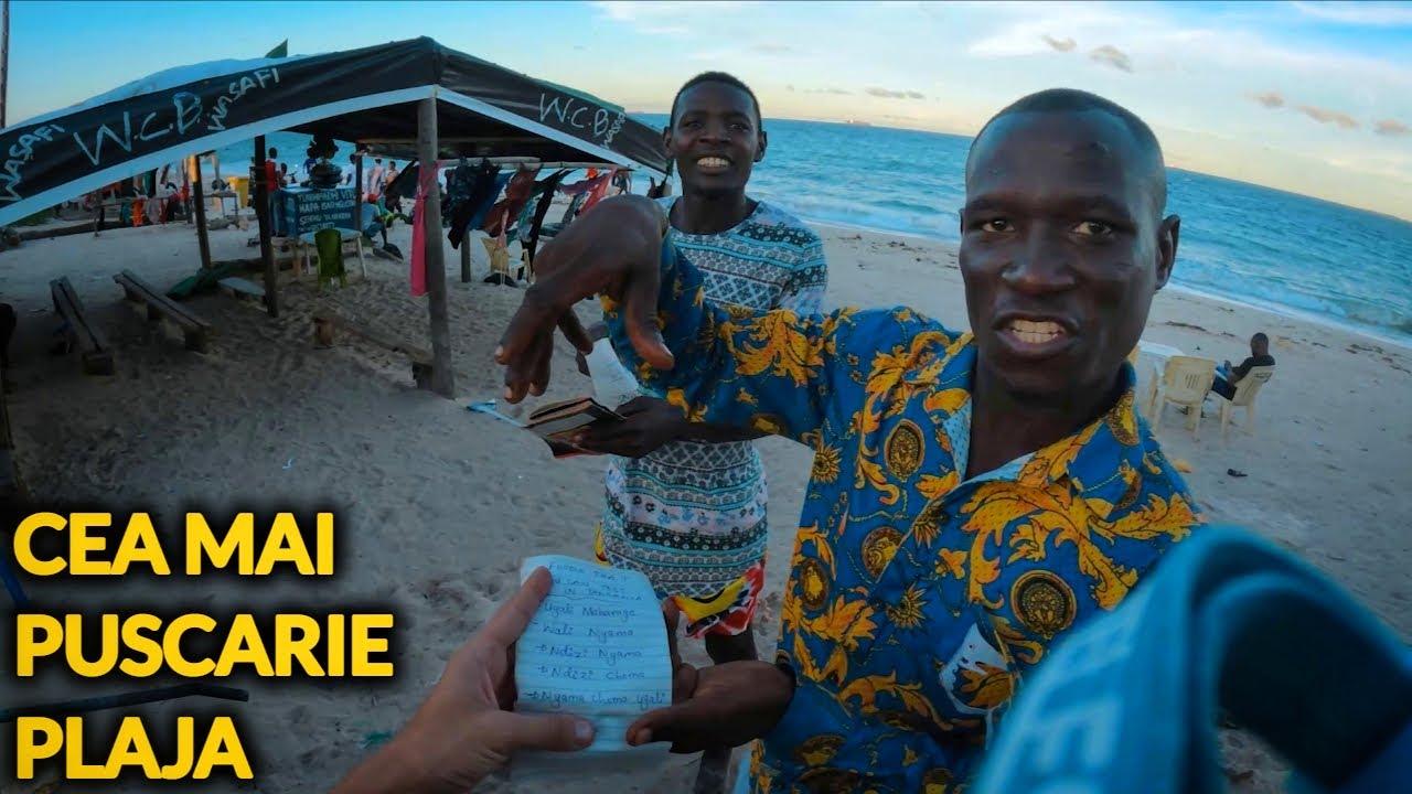S-AU LUAT DE MINE PE CEA MAI PERICULOASA PLAJA DIN TANZANIA