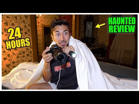 Staying At The SCARIEST Hotel In California... (1 STAR)