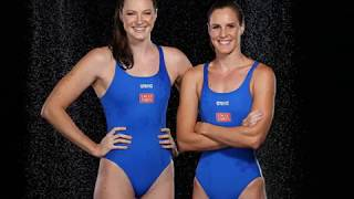 Bronte Campbell and Cate Campbell, Australian swimmers born in Blantyre, Malawi