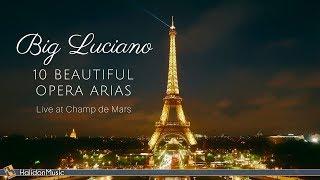 Luciano Pavarotti - 10 Beautiful Opera Arias - Live Performance in Paris