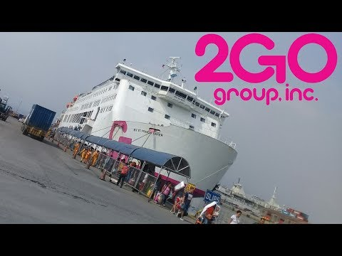 2GO TRAVEL - MV. SAINT FRANCIS XAVIER | CEBU - MANILA