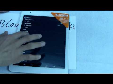 Teclast X98 AIR 3G Windows 8 Tablet test part 1