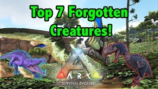 Top 7 Creatures That Are ALWAYS FORGOTTEN About In Ark Survival Evolved