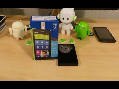 شرح بالعربي نوكيا اكس بنظام أندرويد Nokia X