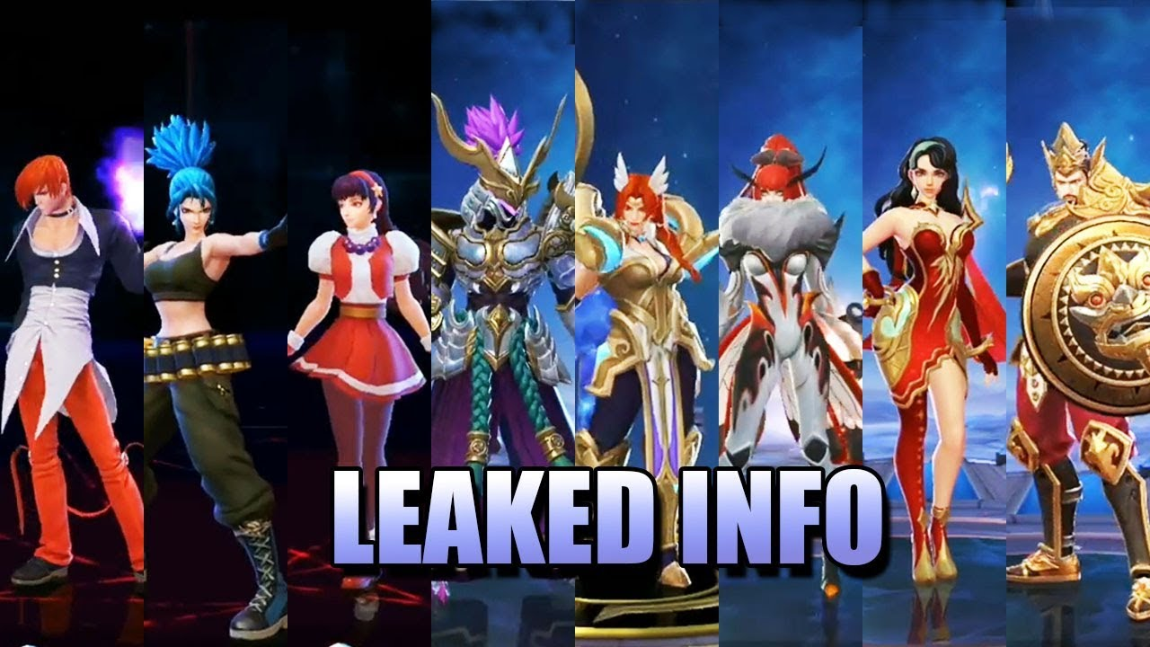 LEAKED INFO - KING OF FIGHTERS SKINS PLUS MORE