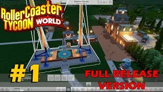 Let's Play Roller Coaster Tycoon World Launch Version! (Ep. 1): Have They Fixed It?