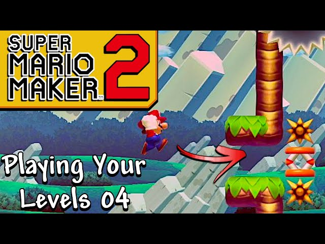Can A Noob Beat A Kaizo Level? - Playing Your Super Mario Maker 2 Stages 4