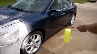 Chemical Guys Foam Cannon  first time use