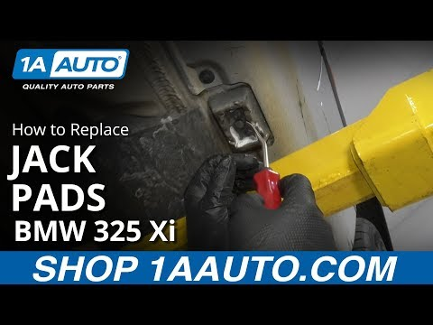 How to Replace Jack Pads 97-06 BMW 325 Xi