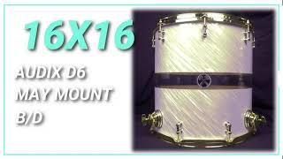 16x16 Hybrid Tom Tom HD Sound Sample