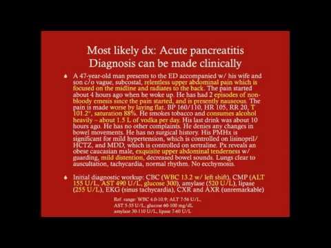 Acute Pancreatitis - CRASH! Medical Review Series
