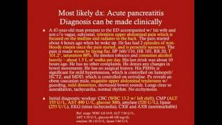 Acute Pancreatitis - CRASH! Medical Review Series