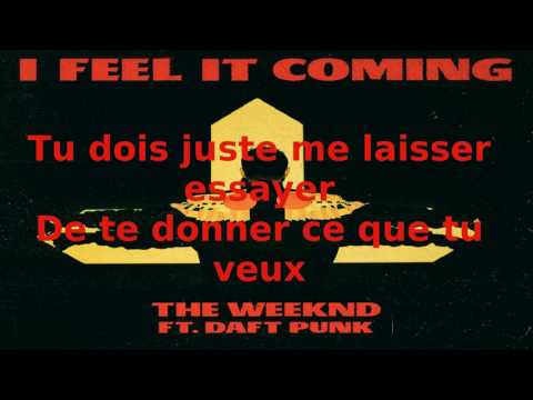 The weeknd - I Feel It Coming (Lyrics...