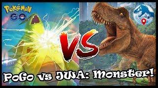 Es gibt KEINEN Grund Pokemon zu MAXEN? Pokemon Go vs Jurassic World Alive!