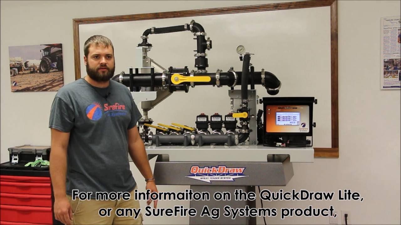 QuickDraw Lite - Spray Tendering System