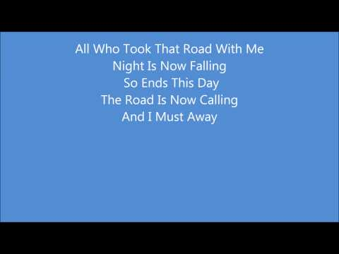 Billy Boyd - The Last Goodbye (Lyrics) The Hobbit The Battle of The Five Armies