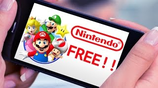 ALL NINTENDO MOBILE GAMES ARE FREE!