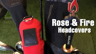 Protect your Golf Clubs with Rose & Fire Headcovers