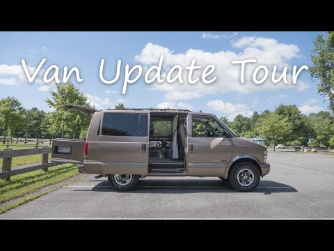 Van Tour & Build Update - 2002 Chevy Astro Van