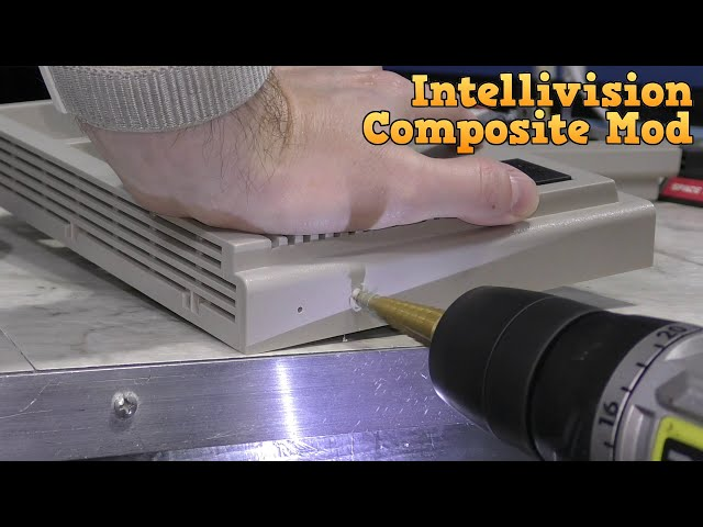 Intellivision - Add composite video, review 2 new games.