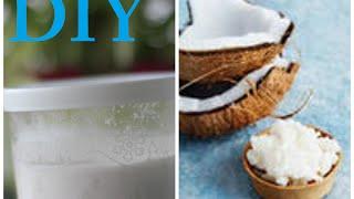 Домашнее кокосовое масло/ Homemade coconut oil | VeneraDIY(Всем привет! Сегодня я поделюсь с вами очень простым рецептом приготовления домашнего кокосового масла...., 2014-07-22T19:37:48.000Z)