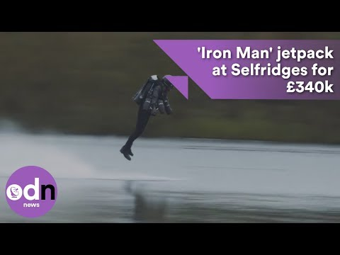 You can now fly home with this jetpack for £340k