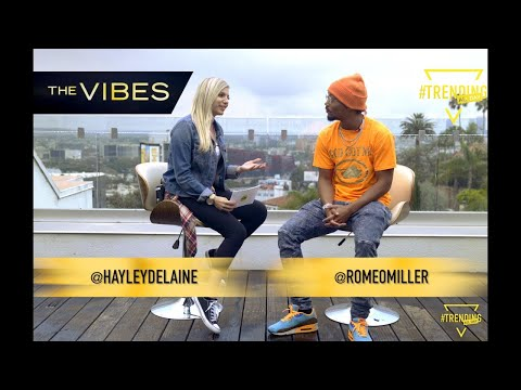 ROMEO MILLER INTERVIEW // THE VIBES // Trending All Day