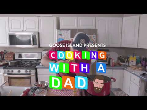 'Cooking with a Dad' Mac n Cheese Hot Dogs- Brewed for Food Education Series