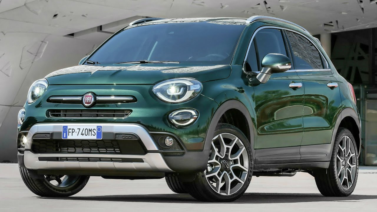 2019 fiat 500x cross refreshed design and new technology. Black Bedroom Furniture Sets. Home Design Ideas