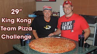 "29"" KING KONG Team Pizza Challenge!! (HW Final #9)"