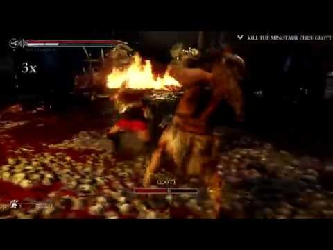 RYSE: Son of Rome - Glott Boss fight (PC)
