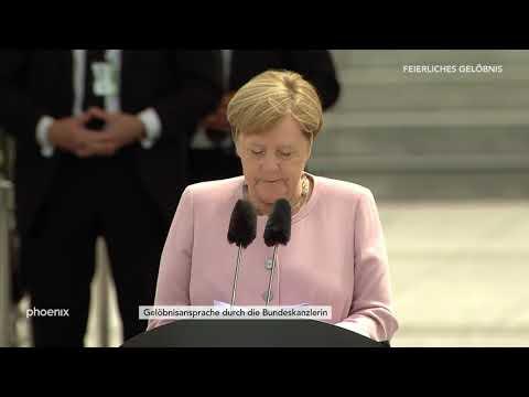 Rekrutengelöbnis: Gelöbnisansprache von Kanzlerin Angela Merkel am 20.07.19