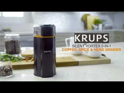 Krups Silent Vortex 3-in-1 Grinder