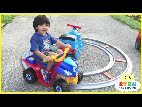 Playground for Kids Compilation Video! Children's Play Area at the Park with Ride on Cars