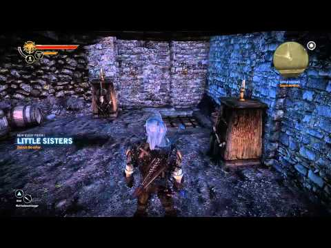 Azoic's Game-Along   The Witcher 2 - Little Sisters (Part 040)