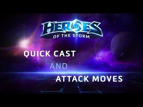 видео: heroes of the storm: Квиккаст и А-клик и с чем их едят