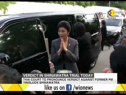 Verdict on Yingluck Shinawatra over charges of negligence to be pronounced today