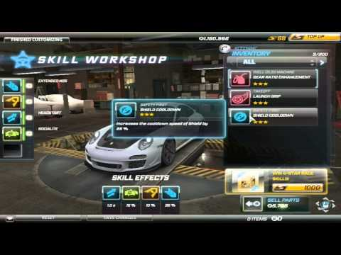 [TIP #1] Need For Speed World - What To Do With Skill Mods,what You Don't Like